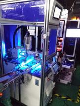 机器人自动喷码检测设备
